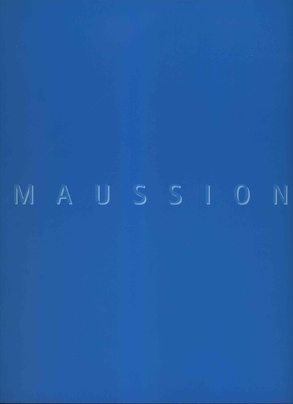 Charles Maussion Catalogue Maussion Sainsbury Collection