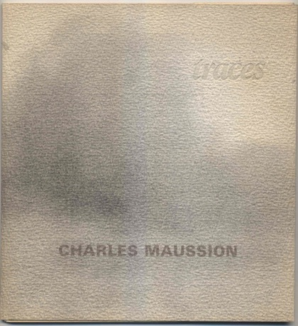 Charles Maussion Catalogue Traces