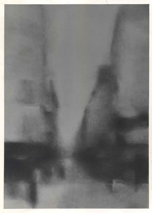 Charles Maussion Dessin Mine de Plomb | 104x74 cm | 1979