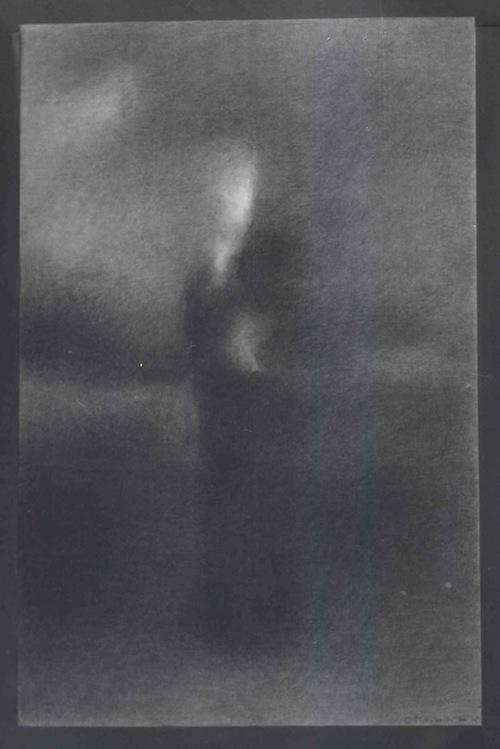 Charles Maussion Dessin Mine de Plomb sur Arche | 60x39 cm | 1979