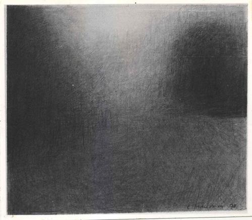 Charles Maussion Dessin Mine de Plomb 24x27,5 cm